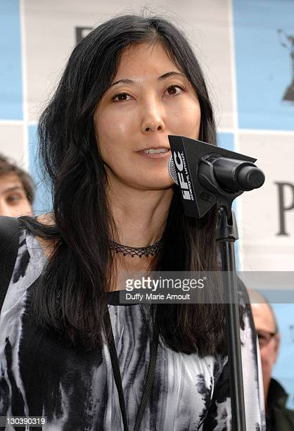 Spirit Nominee Anne Misawa attends the Film Independent's 2010 Spirit Awards Nominee Brunch at BOA Steakhouse on January 16 2010 in West Hollywood...