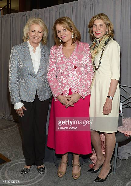 Spirit of Achievement honorees Candice Bergen and Renee Fleming with actress Christine Baranski attend Albert Einstein College of Medicine's Women's...