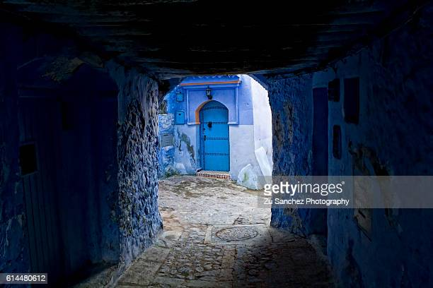 spirit of chaouen - tetouan stock photos and pictures