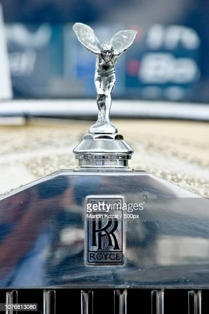 spirit of ecstasy - hood ornament stock pictures, royalty-free photos & images