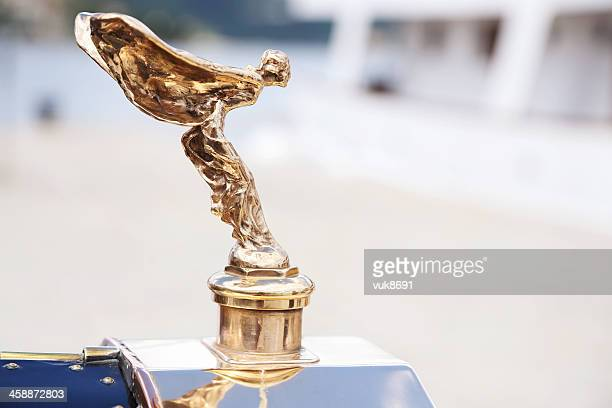 spirit of ecstasy - rolls royce stock photos and pictures