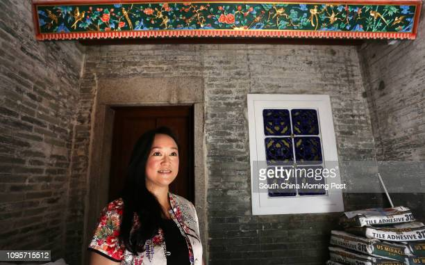 Spirit of Hong Kong Awards portrait of George Tang who is opening a gourmet training school in her 250yearold village house in Ping Shan 30MAY15