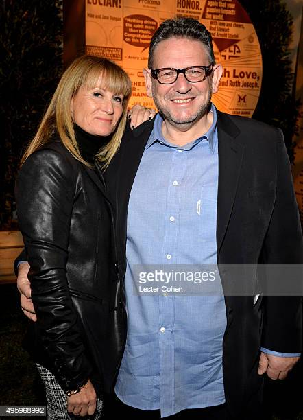 Spirit of Life Honoree and UMG Chairman and CEO Lucian Grainge and Caroline Grainge attend the City Of Hope 2015 Spirit Of Life Gala Honoring UMG...