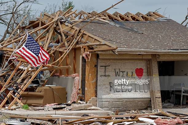 CONTENT] Spirits were high in the aftermath of the tornado that swept through Moore Oklahoma on 5/20/13