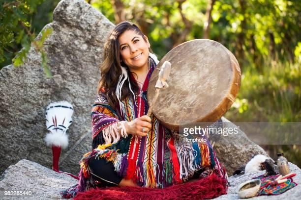 Spiritual Ceremony with Medicine Woman