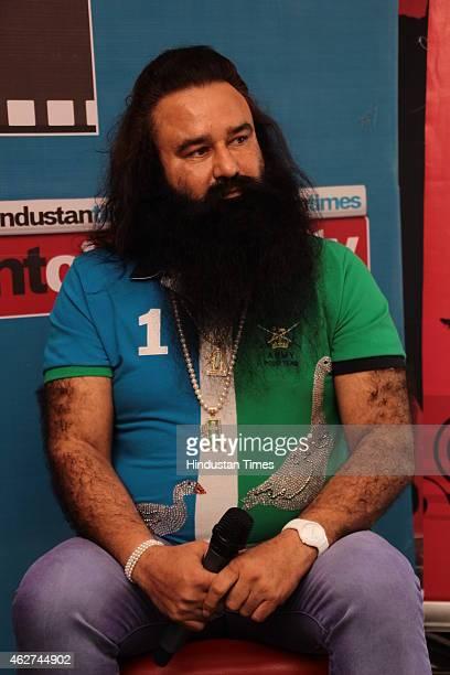 Spiritual leader and the head of the India-based socio-spiritual organisation Dera Sacha Sauda, Gurmeet Ram Rahim Singh during an exclusive interview...