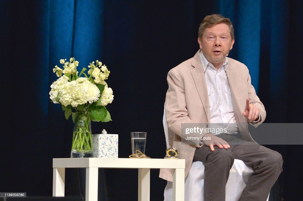 An Evening With Eckhart Tolle : News Photo