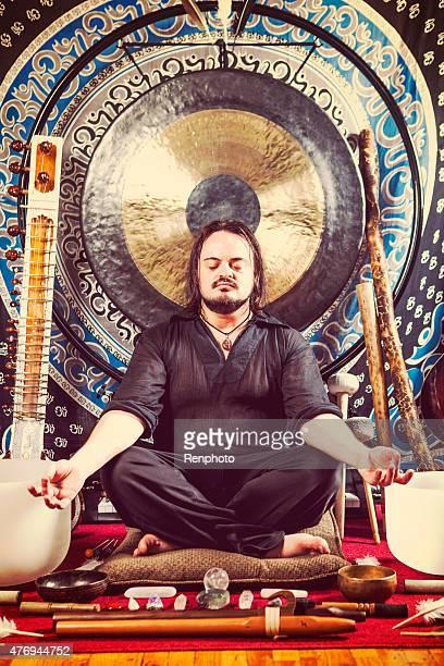 Spirituelle Vibrational Sound Heilpraktiker Porträt