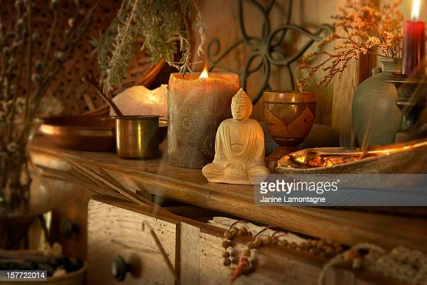 spiritualism - incense stock photos and pictures