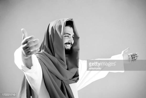 spirituality 2 - smiling jesus stock pictures, royalty-free photos & images
