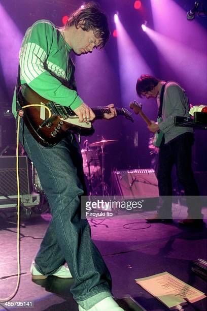 Spiritualized performing at Irving Plaza on Monday night October 13 2003 This image John Coxon left and Doggen