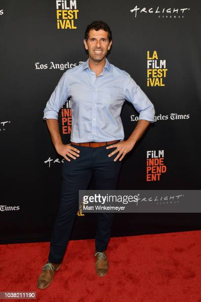 Spiros Michalakis attends the 2018 LA Film Festival screening of Behind The Curve at ArcLight Hollywood on September 22 2018 in Hollywood California