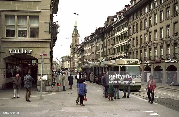 Spitalgasse in the Swiss capital Bern