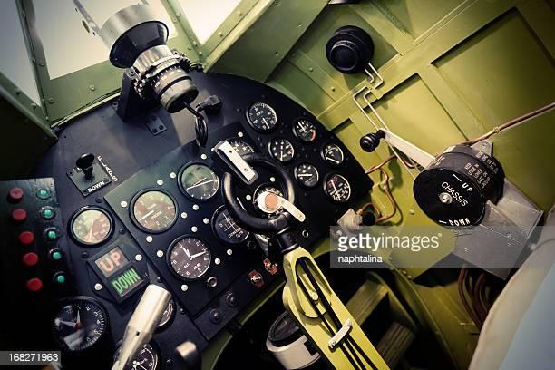 spitfire cabine - spitfire - fotografias e filmes do acervo
