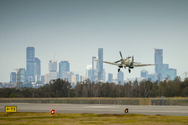 AUS: New Runway Opens At Brisbane Airport