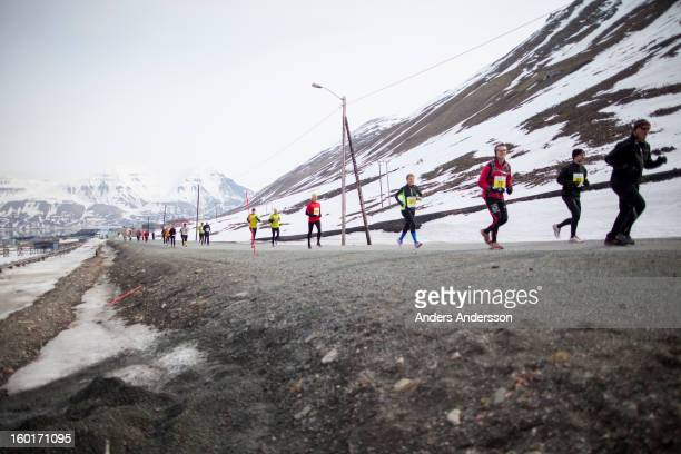 CONTENT] Spitsbergen marathon 2012 held in June each year This year about 100 persons ran the marathon which starts at the school in Longyearbyen...