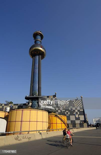 Spittelau Incinerator and Heating Plant Designed by Friedensreich Hundertwasser Vienna Austria