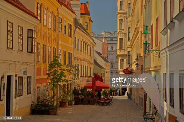 spittelberg, vienna, austria - vienna austria stock pictures, royalty-free photos & images
