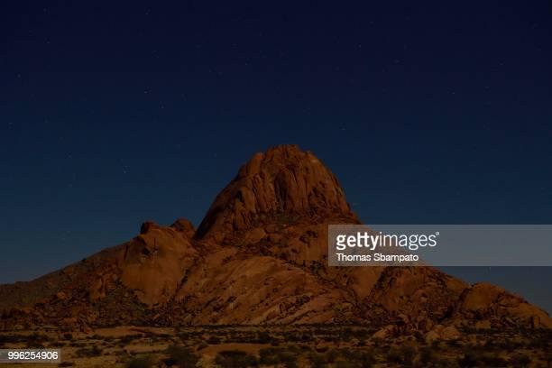 Spitzkoppe at night, Erongo region, Damaraland, Namibia