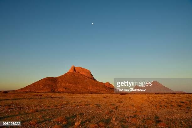 Spitzkoppe in the evening light, Erongo region, Damaraland, Namibia