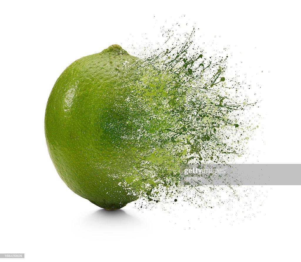 Splash of Lime : Stock Photo