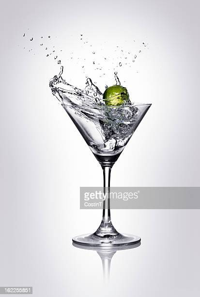 splash - martini glass stock pictures, royalty-free photos & images