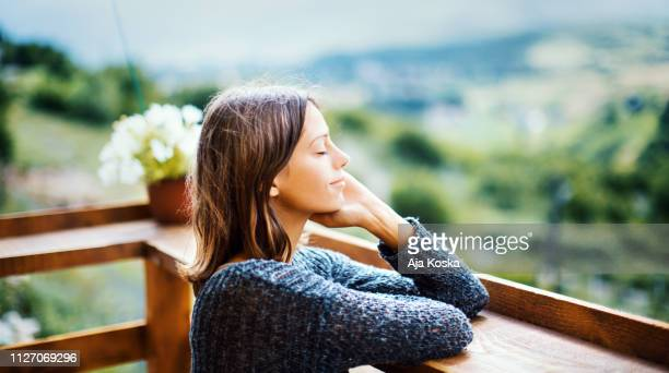 splashed with fresh air. - balcony stock pictures, royalty-free photos & images
