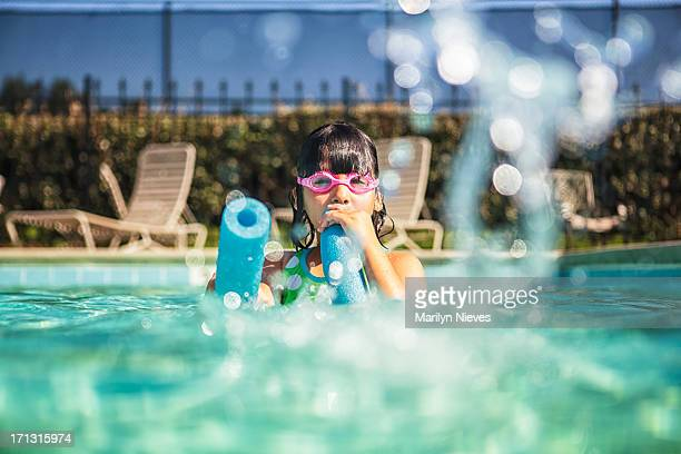 """splashes at the pool - """"marilyn nieves"""" stock pictures, royalty-free photos & images"""