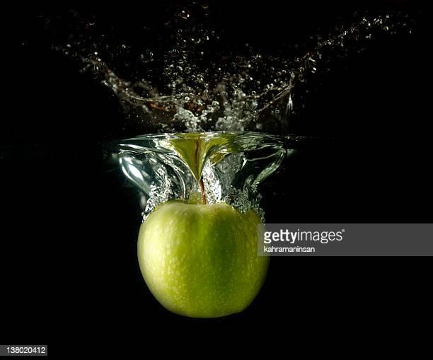 Splashing Apple