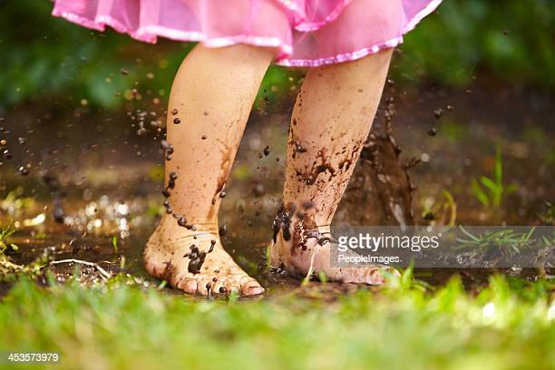 splashing around - dirty feet stock pictures, royalty-free photos & images