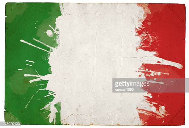 salpicado tricolor italiano - bandera italiana fotografías e imágenes de stock