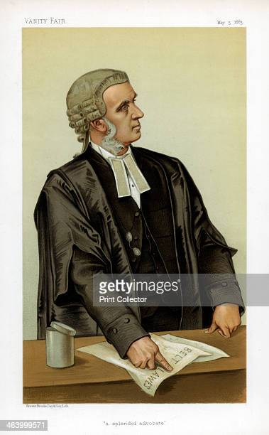 'A Splendid Advocate' 1883 Charles Russell QC MP British lawyer and politician Born in Newry County Down Russell became a QC in 1872 Entering...