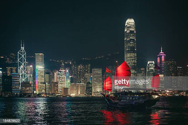 Splendid Asian city, Hong Kong
