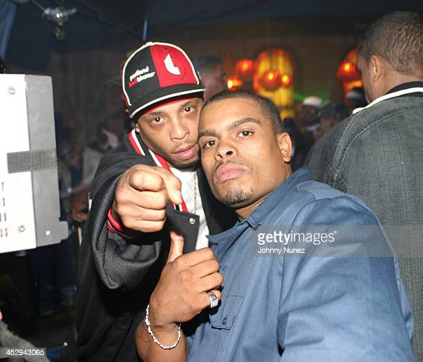 Spliff Star and Benny Boom during Rah Digga's Party And Bullshit Video Shoot at Diva Lounge in Montclair New Jersey United States