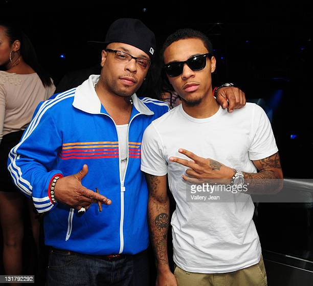Spliff Star and Bow Wow host a party at Club Play on January 14 2011 in Miami Beach Florida
