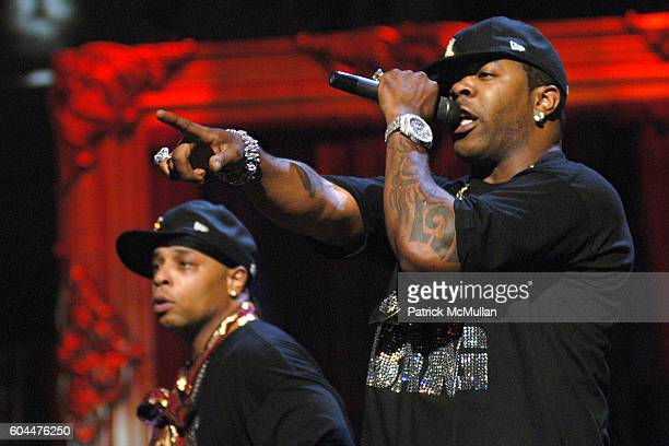 Spliff Star and Busta Rhymes attend 2006 MTV Video Music Awards at Radio City Music Hall on August 31 2006 in New York City