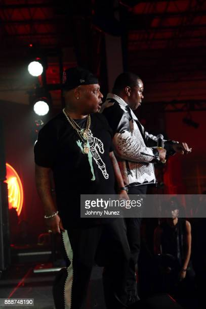 Spliff Star and Busta Rhymes perform during Day 2 of Bacardi The Dean Collection No Commission on December 8 2017 in Miami Florida