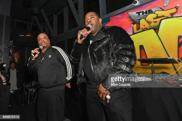 Spliff Star and Busta Rhymes perform during TBS' The Last OG Premiere at The William Vale on March 29 2018 in New York City 27038_012