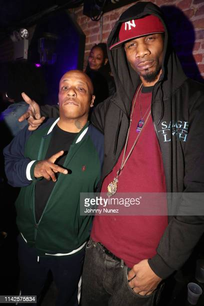Spliff Star and Rock attend the Lyricist Lounge Reunion at Mercury Lounge on May 7 2019 in New York City