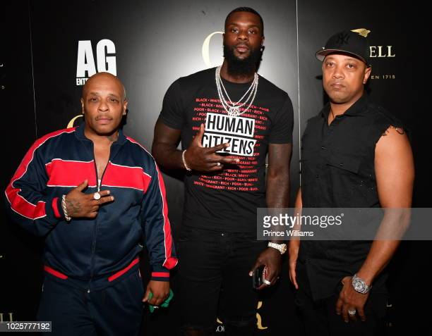 Spliff Star Lance Stephenson and Special attend a Party at Gold Room on September 1 2018 in Atlanta Georgia