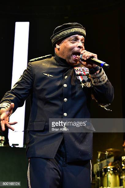 Spliff Star performs at The Conglomerate And Hot 97 Present 'Busta Rhymes And Friends Hot For The Holiday' show at Prudential Center on December 5...