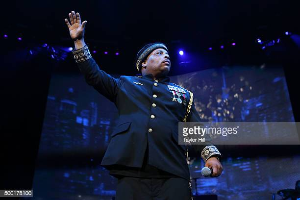 Spliff Star performs during Hot 97's 'Busta Rhymes and Friends Hot for the Holidays' at Prudential Center on December 5 2015 in Newark New Jersey