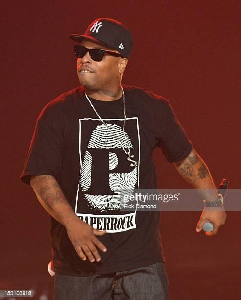 Spliff Star performs onstage at the 2012 BET Hip Hop Awards at Boisfeuillet Jones Atlanta Civic Center on September 29 2012 in Atlanta Georgia