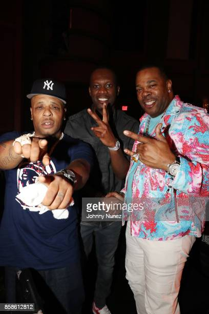 Spliff Star Pras and Busta Rhymes attend the 2017 BET Hip Hop Awards on October 6 2017 in Miami Beach Florida