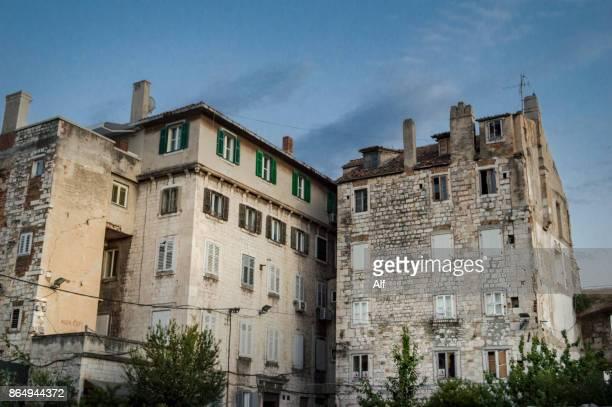 Split corners, Croatia