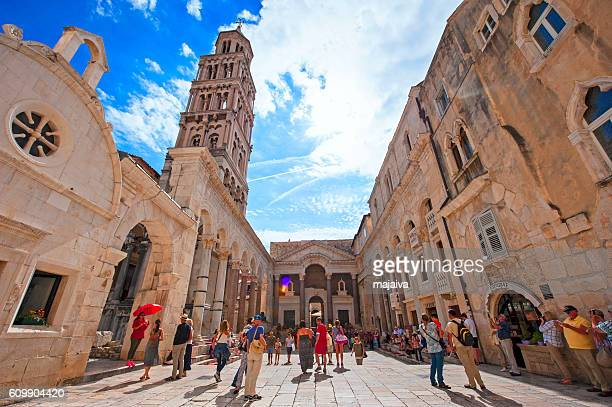 split, croatia - croatia stock pictures, royalty-free photos & images