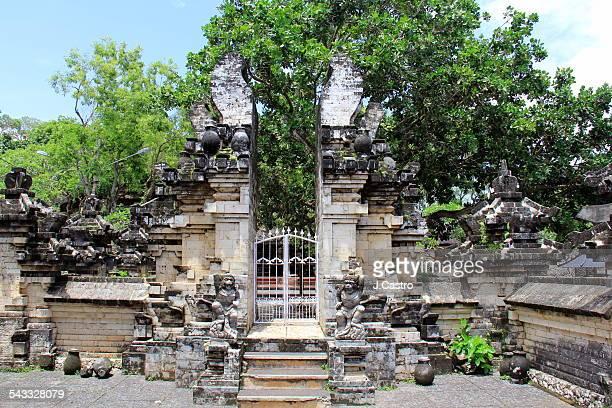 Split Gate - Balinese Temple
