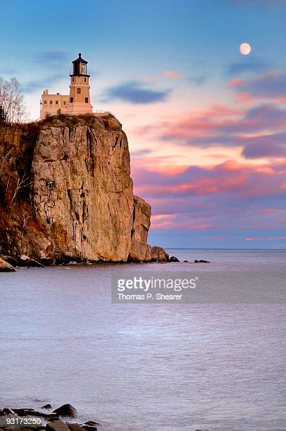 split rock lighthouse - lake superior stock pictures, royalty-free photos & images