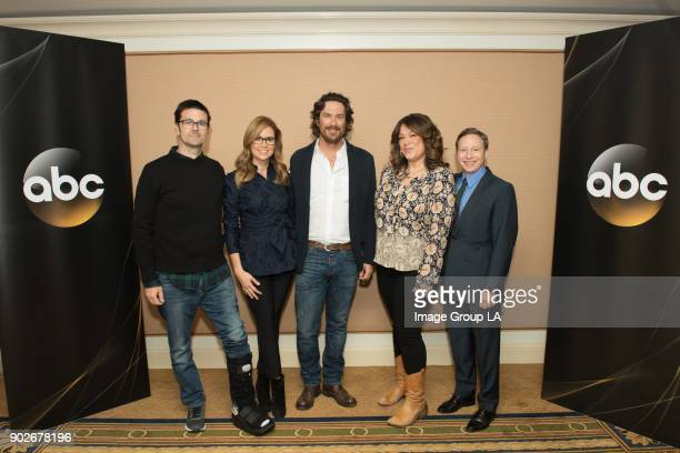 TOUR 2018 'Splitting Up Together' Session The cast and executive producers of 'Splitting Up Together' addressed the press at Disney | ABC...