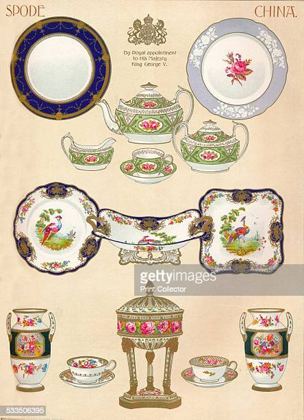 Copeland & Sons, Stoke-on-Trent, 1913. Spode is a Stoke-on-Trent based pottery company, founded by Josiah Spode in 1770. From The Connoisseur Vol...